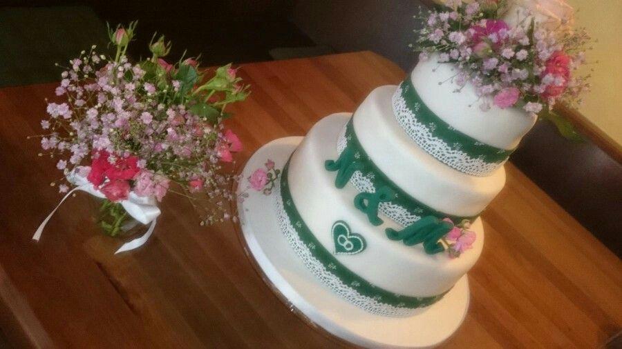 Hochzeitstorte Tracht Hochzeit