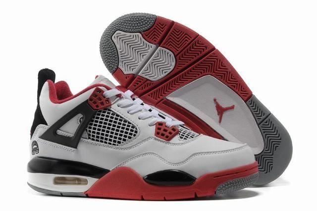 buy popular a4442 d0bda air jordan 4 femme pas cher,femme air jordan 4 blanche et noir et rouge