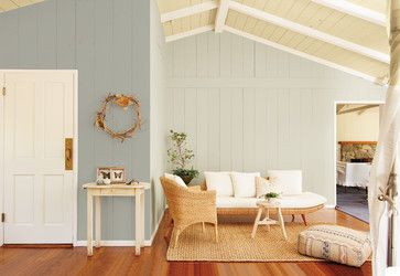 hgtv home by sherwin williams sw useful gray on large wall with rare gray on wall with door. Black Bedroom Furniture Sets. Home Design Ideas