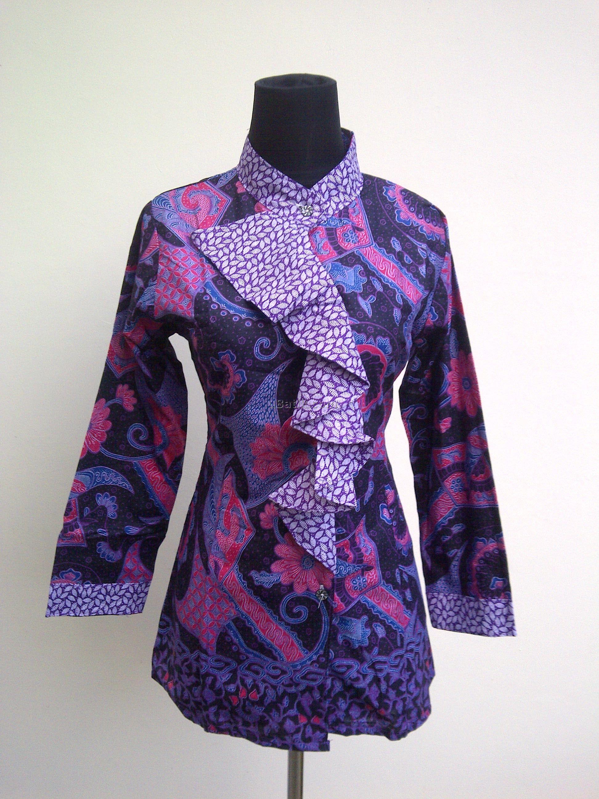 bagaimana jika Anda mengaplikasikan beberapa model baju kerja batik wanita  di bawah ini sebagai refreshment pekerjaan a410e95554