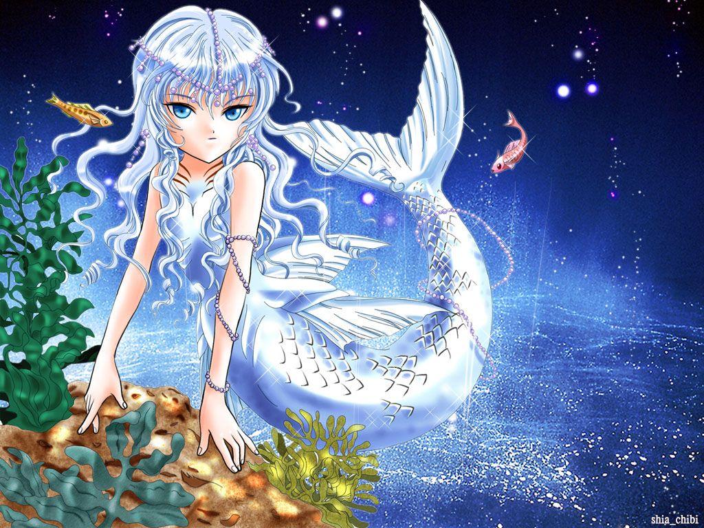 Huskey as the mermaid princess Mermaid wallpapers, Anime