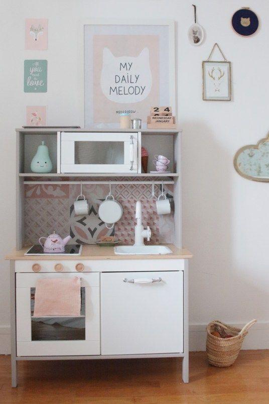 Ikea hack la cuisine pour enfant duktig avec un twist rétro hëllø blogzine