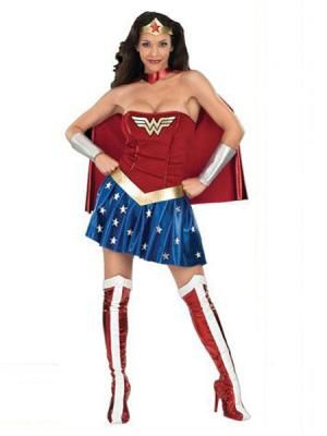 Wonder Woman Costume-Diana Superhero Zentai Suit