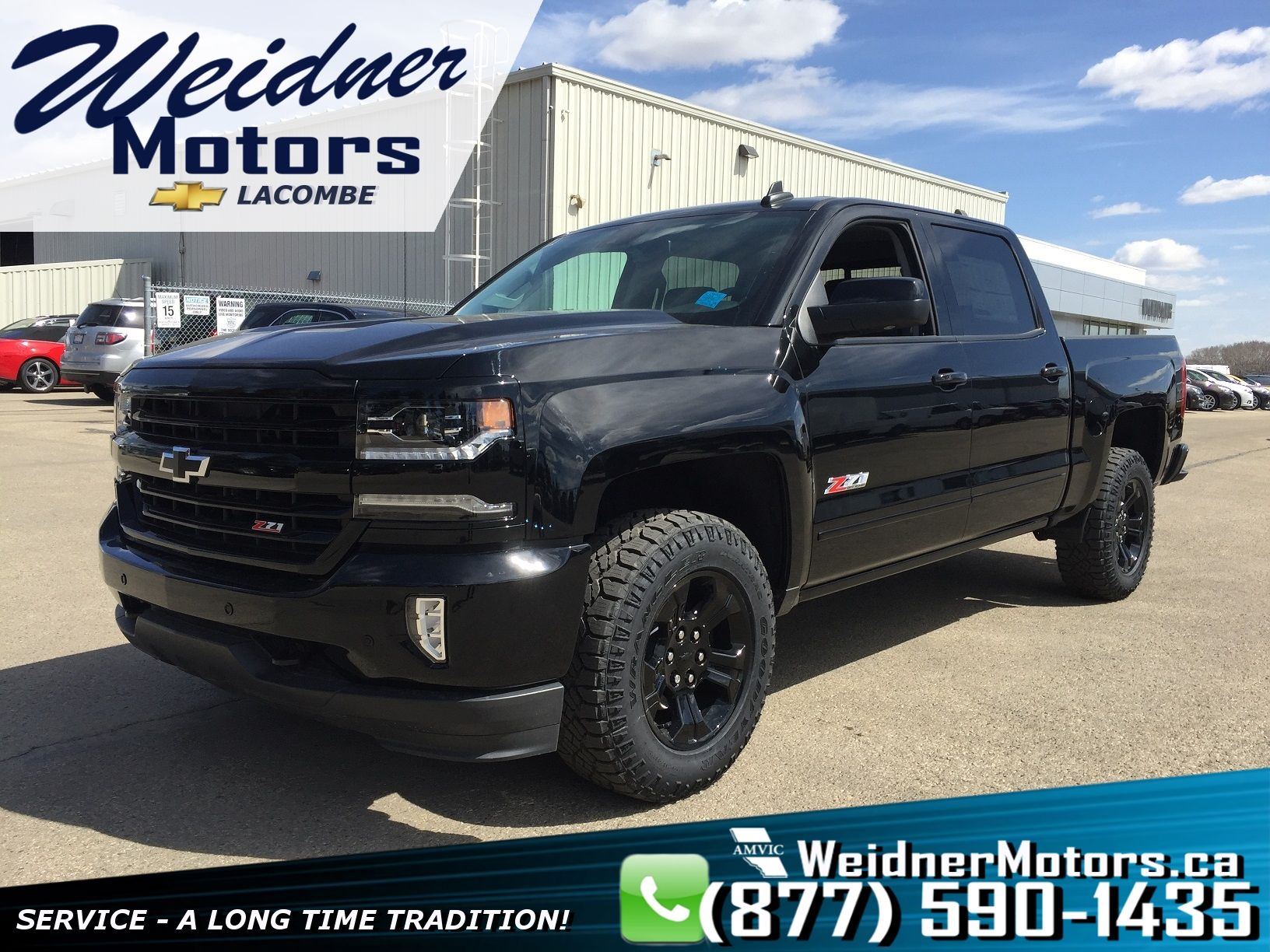 2018 Chevrolet Silverado 1500 2lz Crew Cab Short Box Midnight