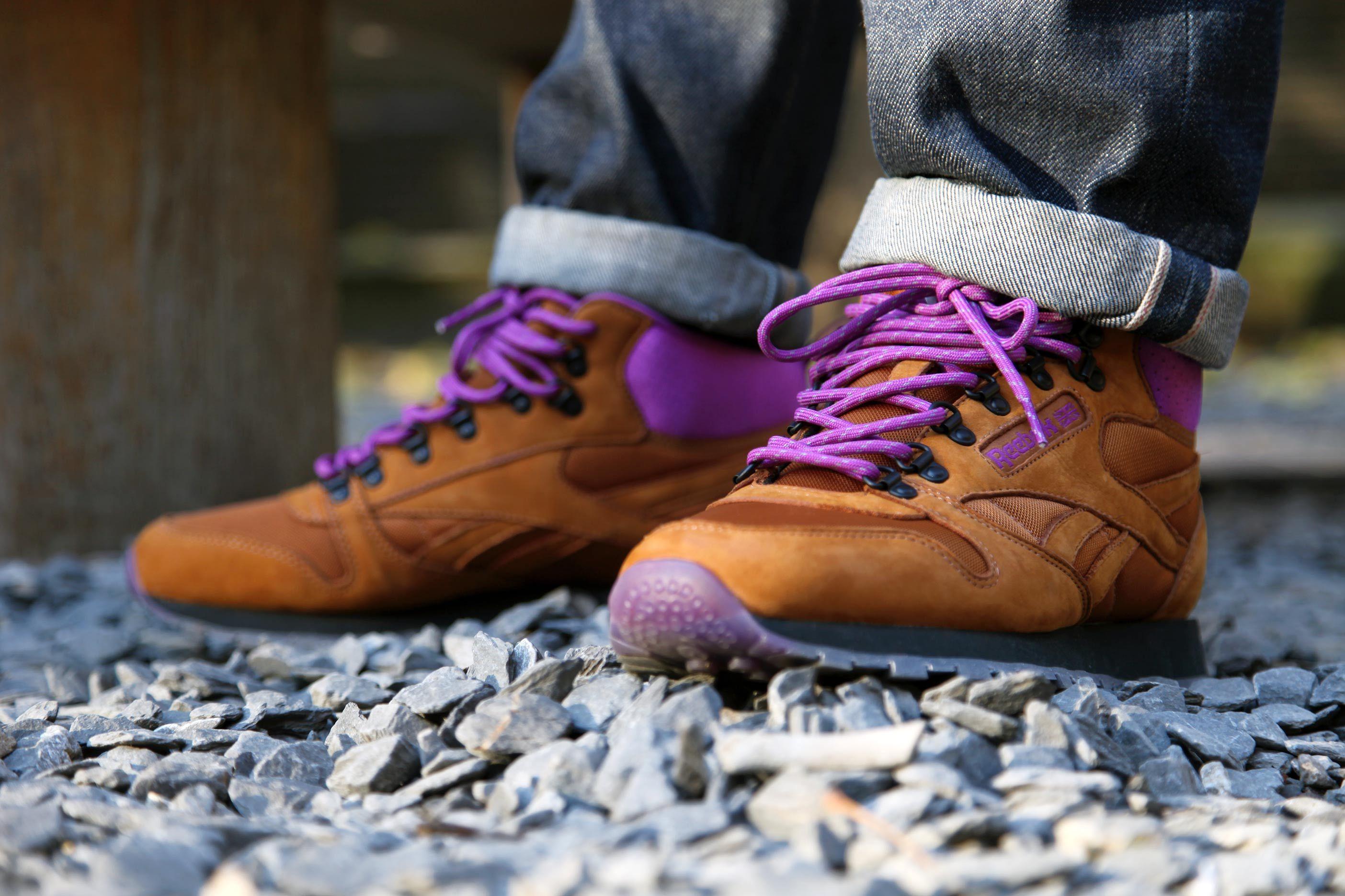Footpatrol X Reebok Classic Leather Mid 'On the Rocks' | Now