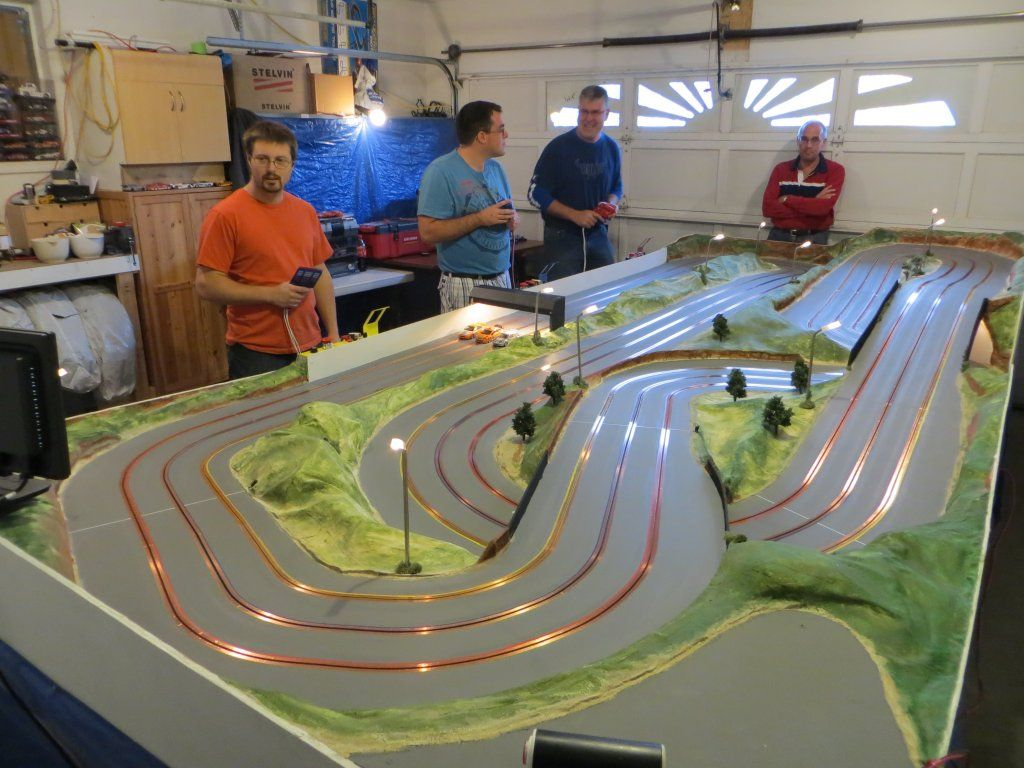 Kelowna Slot Car Club Three New Wood Tracks Just Completed