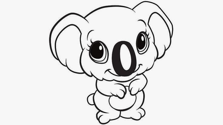 baby koalas coloring for kids | coloring pages | Pinterest ...