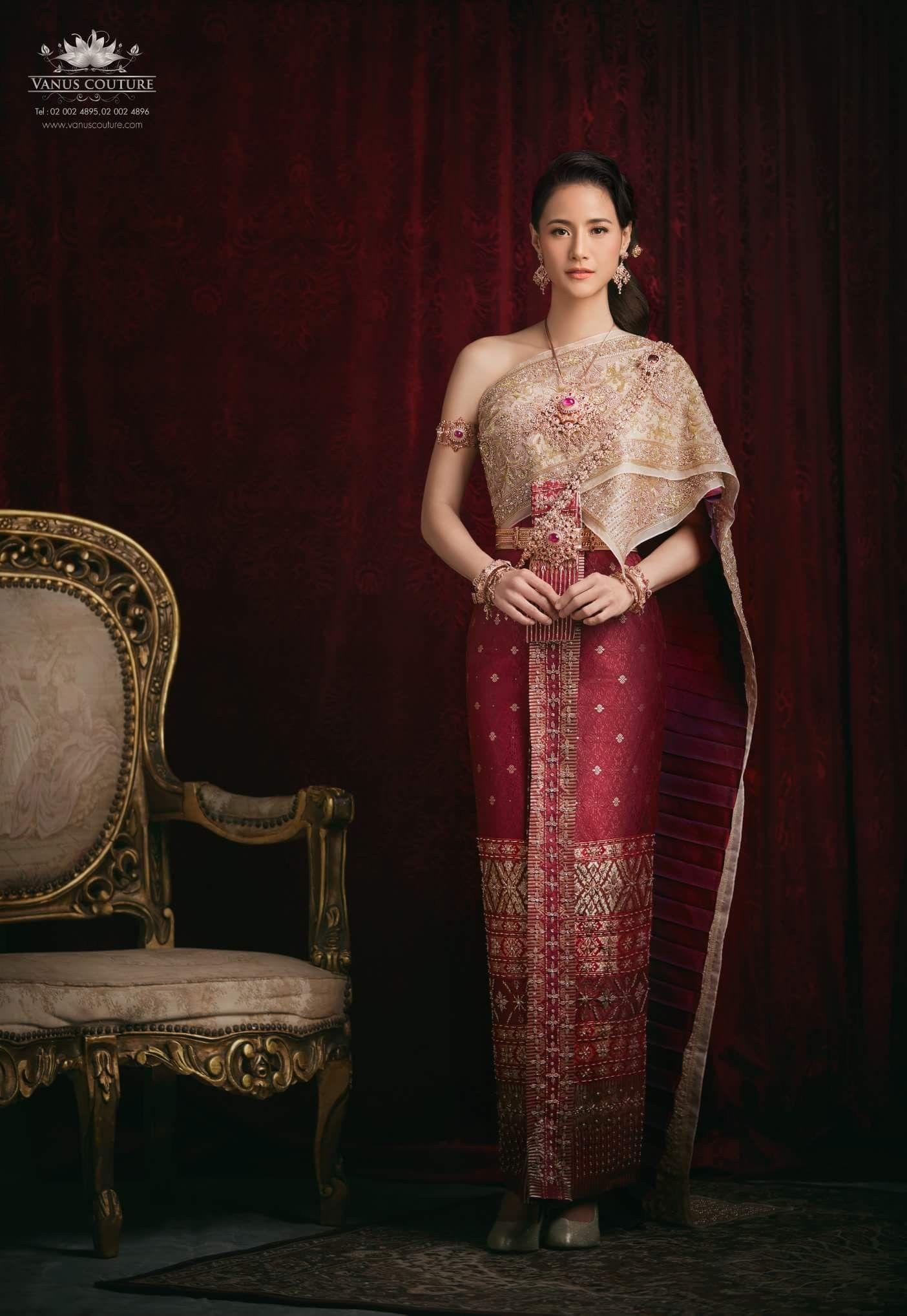 Pin by sini bal on thai wedding in pinterest thai dress