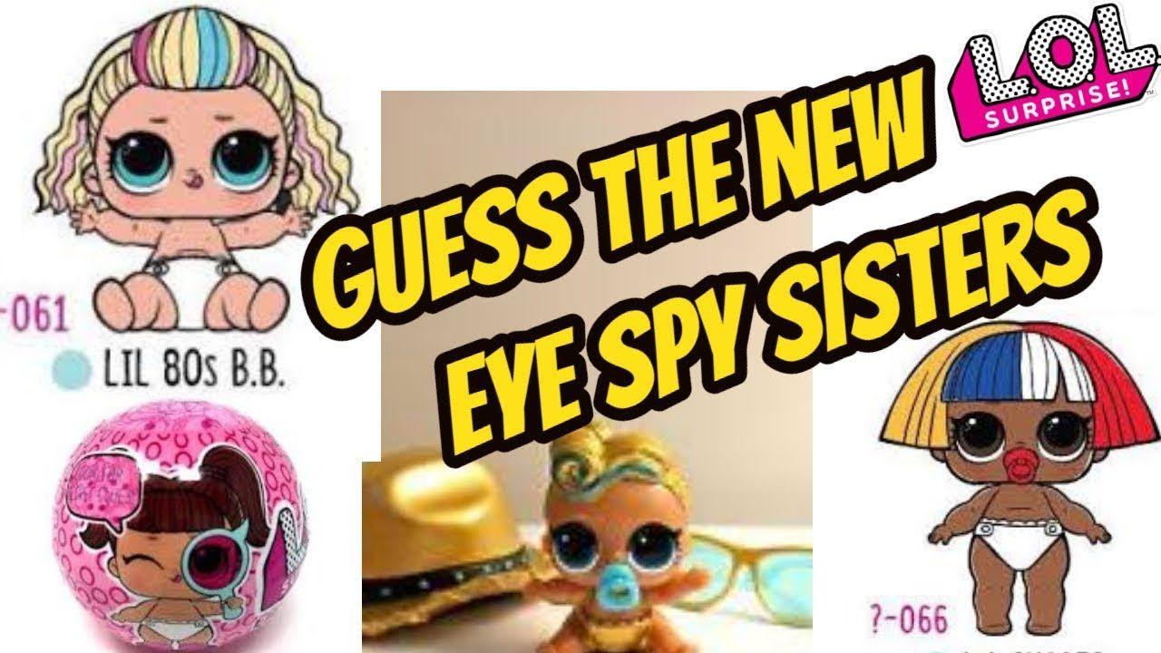 New Series 4 Lol Dolls Game Lol Surprise Series 4 Lil Sisters