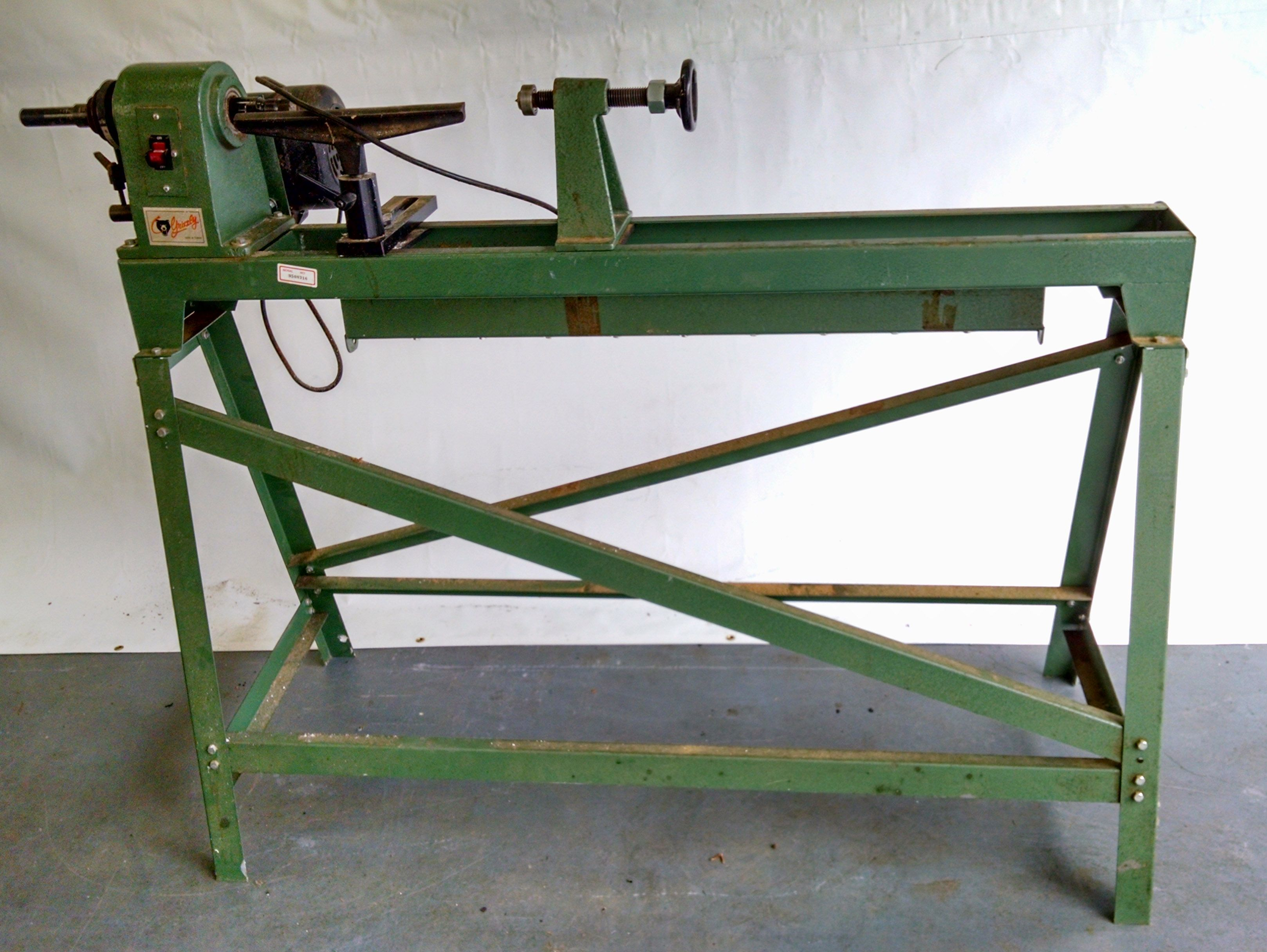 Grizzly Wood Lathe Power Tools For Sale Woodworking