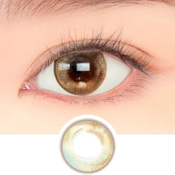 Buy I Dol Ette Bagel Lemon Brown Color Contacts Color Contacts Lens Coloredcontactlens Cir Contact Lenses Colored Colored Contacts Coloured Contact Lenses