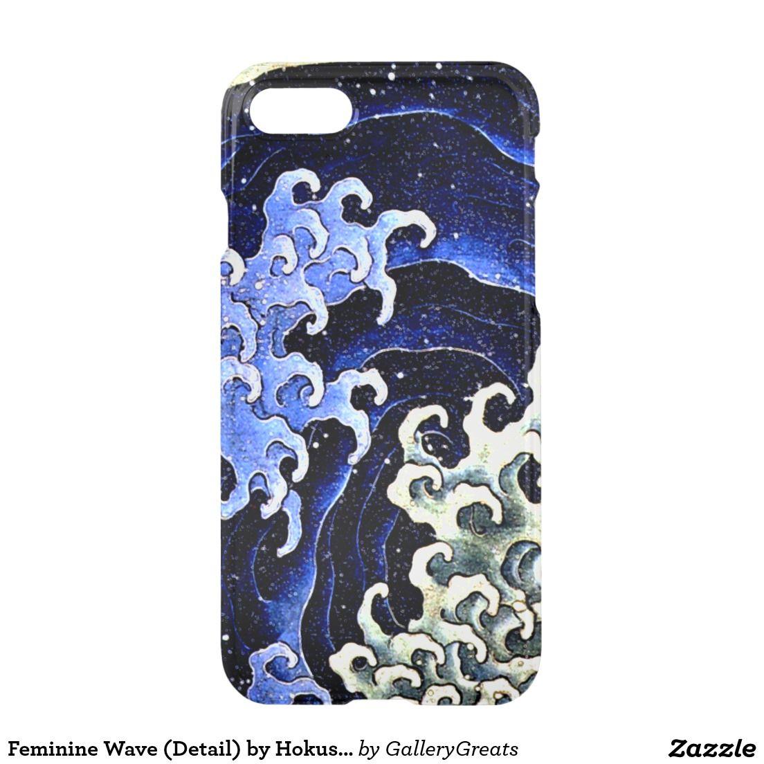 Feminine Wave (Detail) by Hokusai iPhone 7 Case