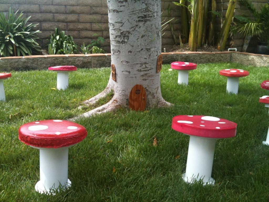Magical Fairy Garden Theme Birthday Party Gardens Fairy houses