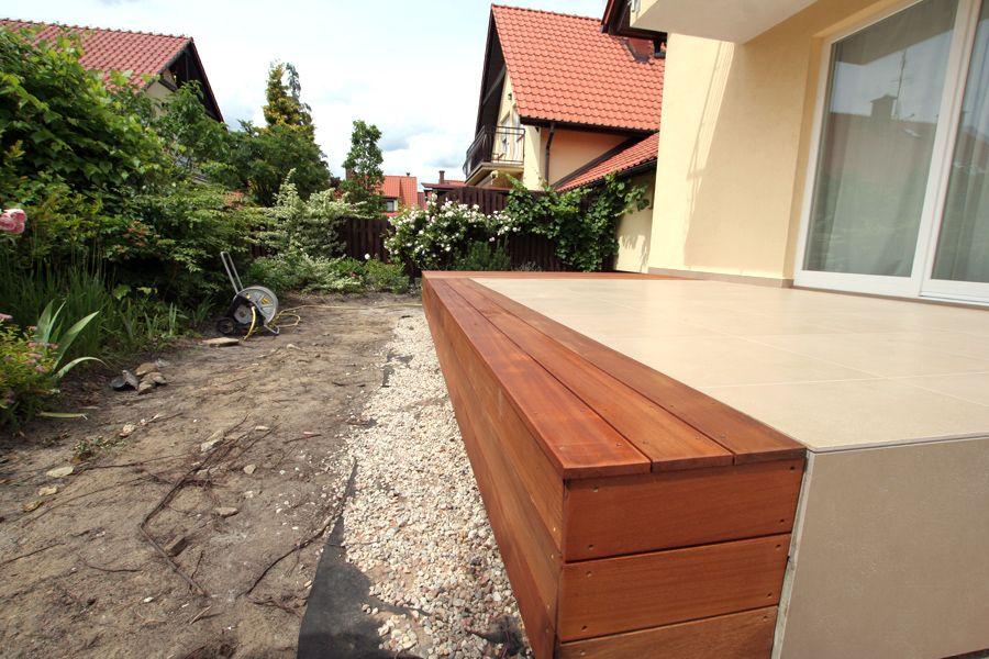 Taras drewniany. Realizacja w Zielonej Górze