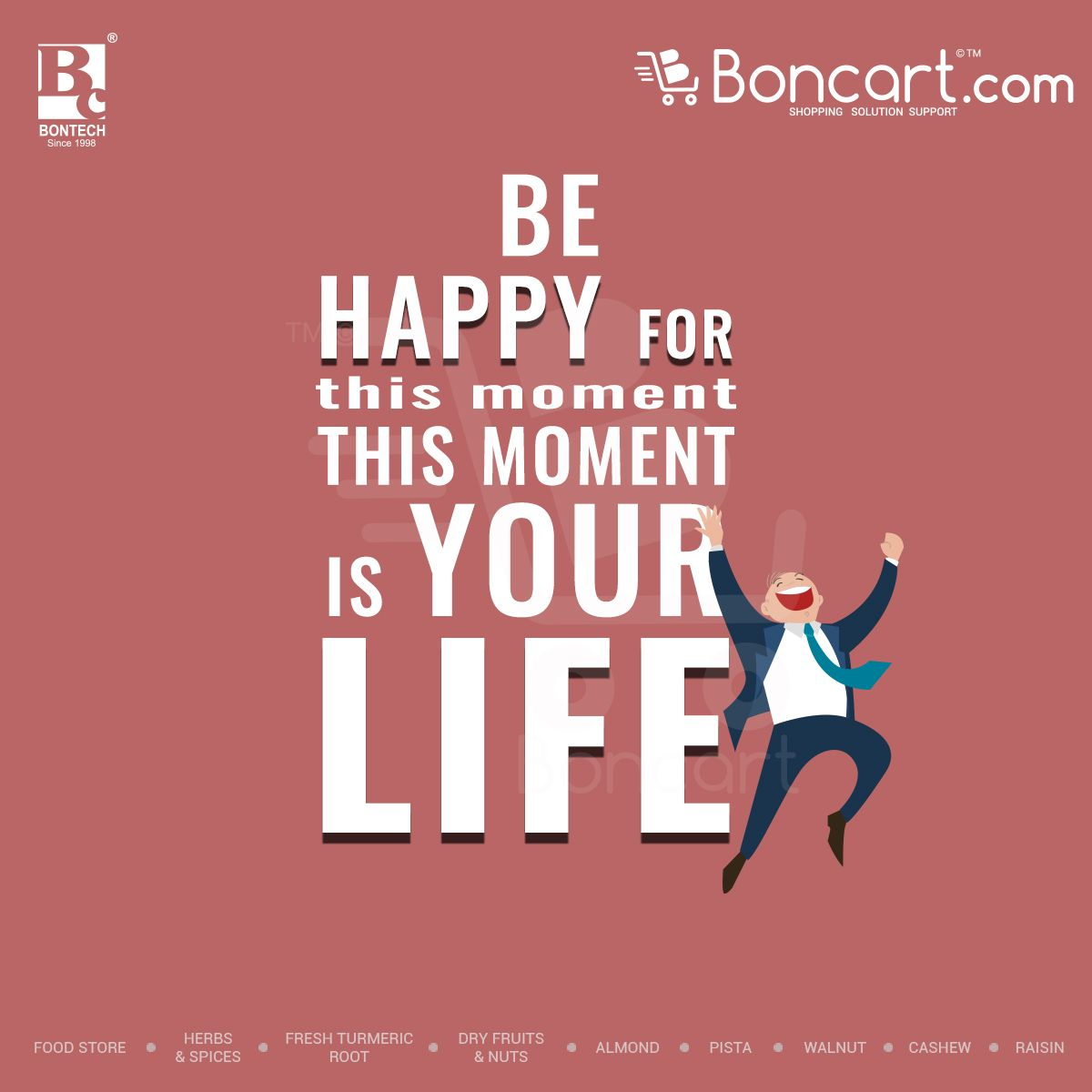 This Is Your Life Quote Poster Be Happy For This Moment This Moment Is Your Life  Boncart
