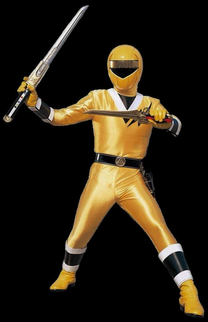 Aquitar Yellow Ranger Transparent! by CamoFlauge