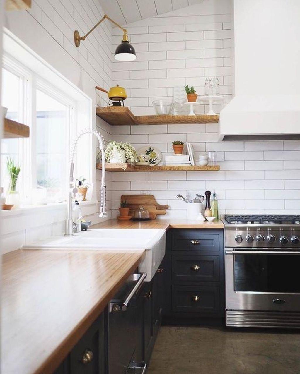 36 Stunning Farmhouse Country Kitchen Design Ideas