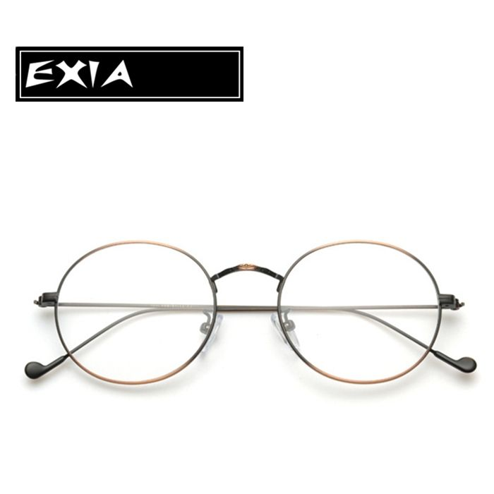 9f7a6768492 Optical Glasses Women and Men Retra Round Frame with MR-8 1.61 Aspherical  HMC Ophthalmic