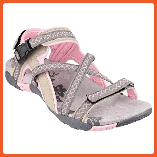 af5e65f7fbb9c Cotswold Womens/Ladies Milcombe Cross Strap Sandals (8.5 US) (Pink ...