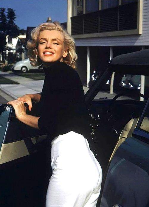 Marilyn Monroe Car : marilyn, monroe, VIOLET, Marilyn, Monroe, Photos,, Alfred, Eisenstaedt,