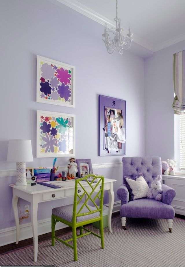 Lavender girl\u0027s room For the Home Pinterest Decoracion cuarto