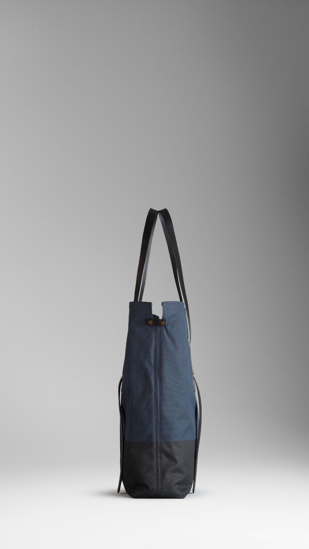 d98a072fb48b Burberry mens canvas tote bag 3   bags   Canvas tote bags, Bags ...