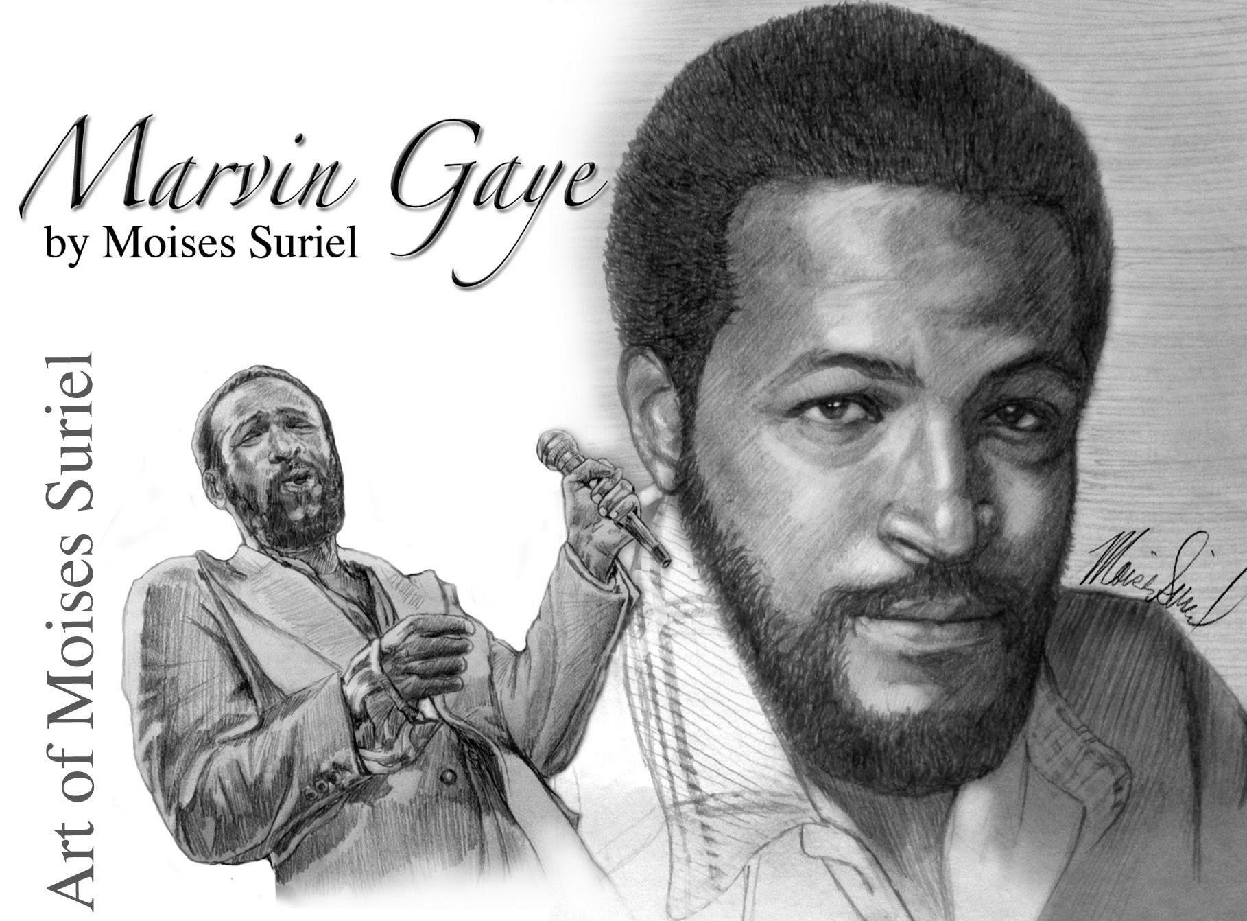 Marvin gaye historical figures historical