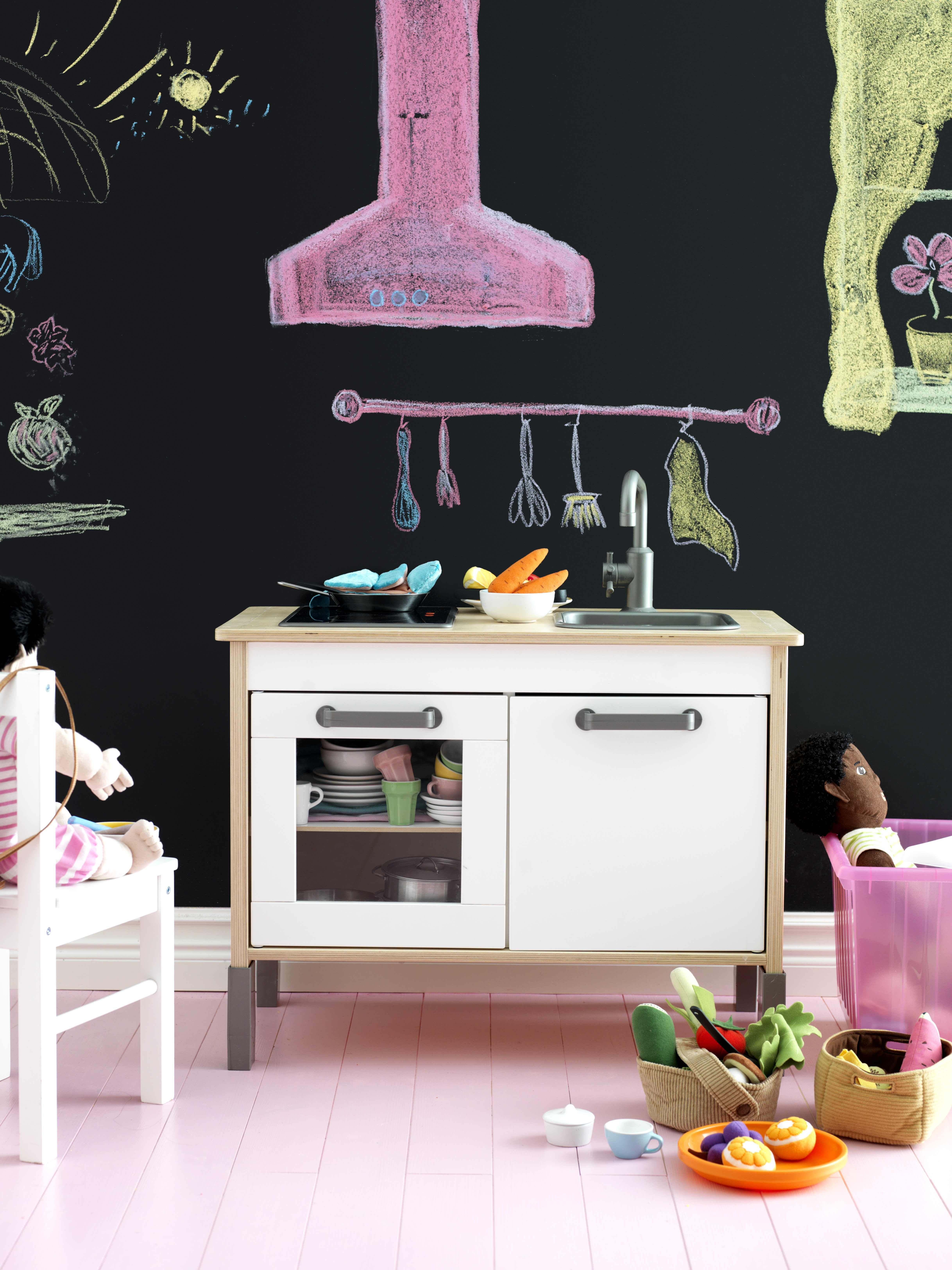 Duktig play kitchen xx cm playrooms mini kitchen and chalk
