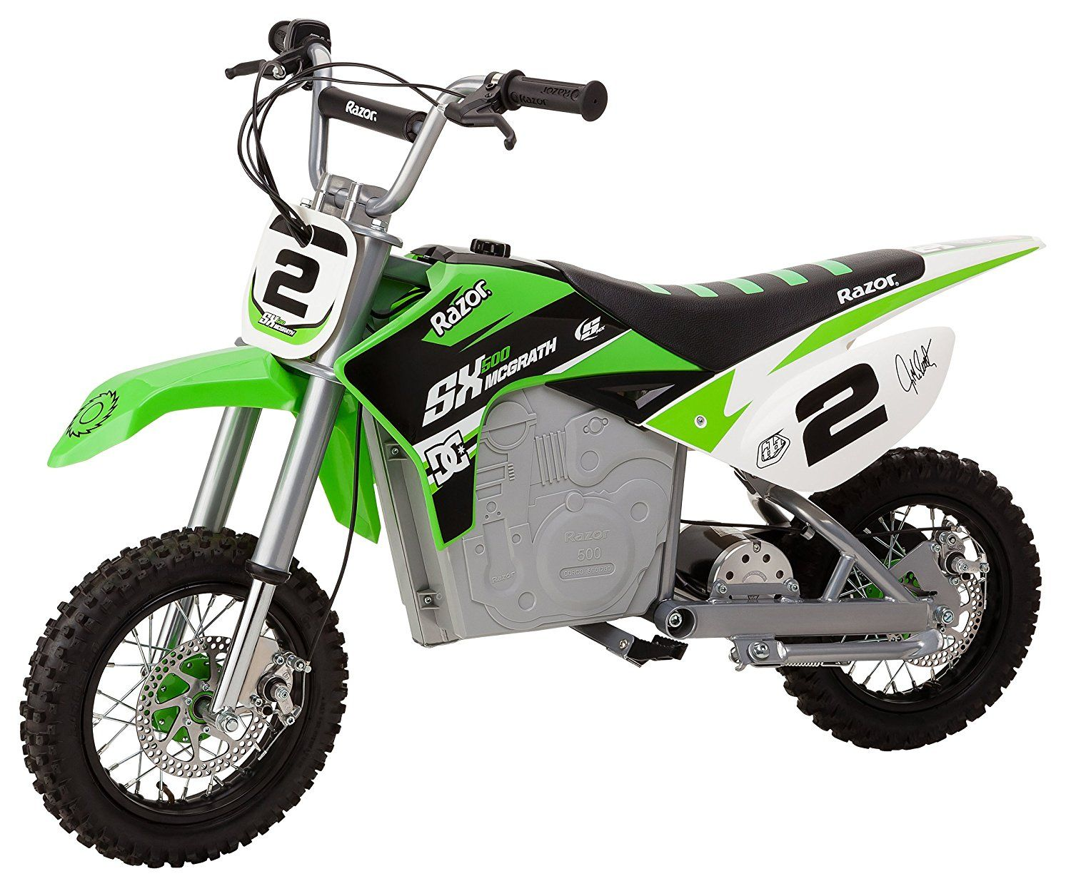 Check Out The All New Green Razor Sx500 Mcgrath Electric Dirt Bike See What Jeremy Mcgrath Himse Electric Dirt Bike Electric Bike For Kids Dirt Bikes For Kids