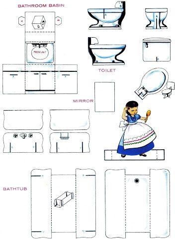 Casitas recortables y mobiliario pinterest casitas for App para hacer muebles