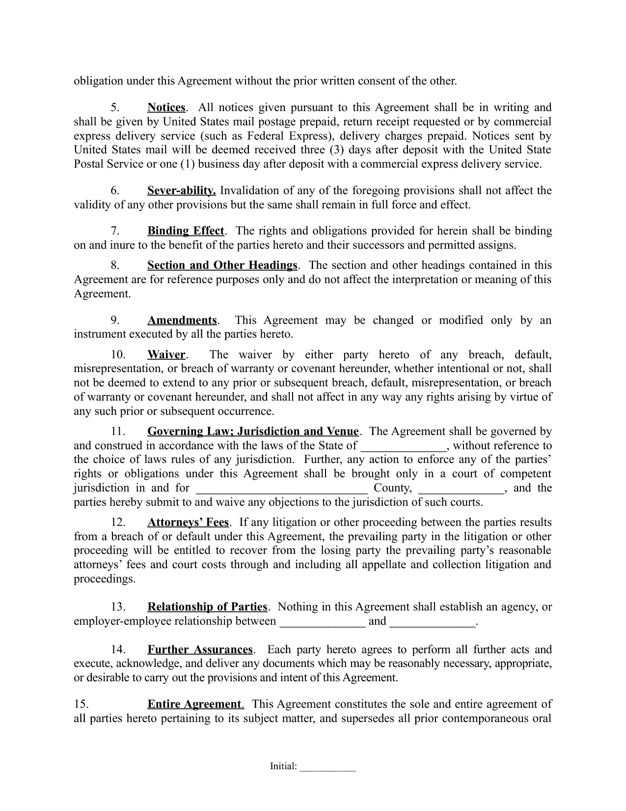 Sample Real Estate Partnership Agreement 9 Free Documents In  Investor Contract Sample