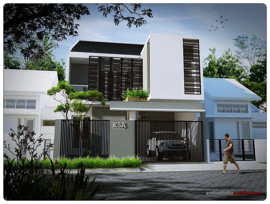 rumah minimalis 2 lantai type 21 | Desain rumah eksterior ...
