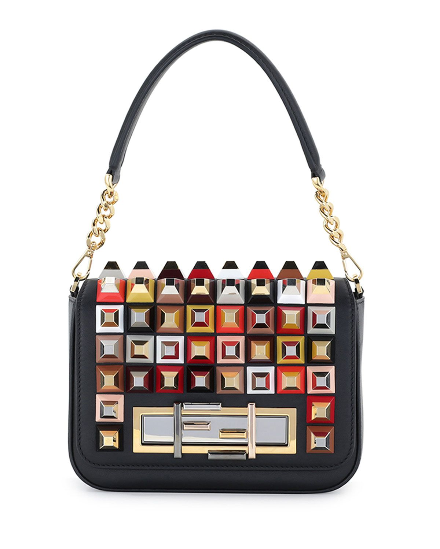 studded chain purse - Black Fendi 331VlY