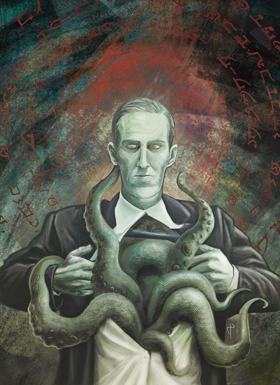 Lovecraft by Nacho Tenorio