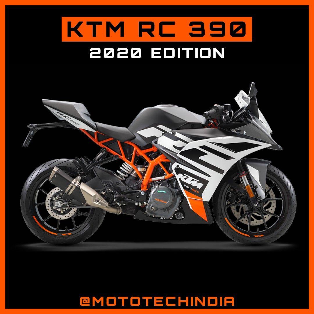 New KTM RC 390 in 2020 Ktm, Ktm rc, Cool bikes