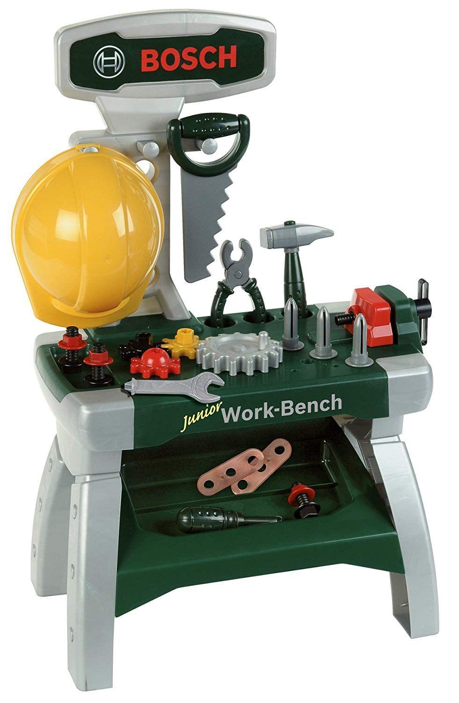 Der Spielzeugtester Hat Das Theo Klein 8606 Bosch Werkbank Junior Spielzeug Angeschaut Und Empfiehlt Es Hier Im Shop Im Bosch Werkbank Werkbank Theo Klein