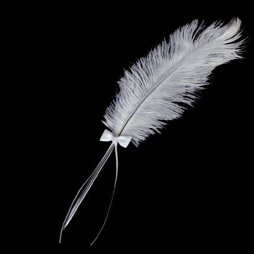 Feather Ostrich Plume 60-70cm Craft Millinery Fly Fishing