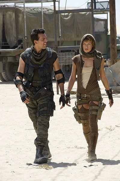 Resident Evil Extinction Resident Evil Costume Resident Evil