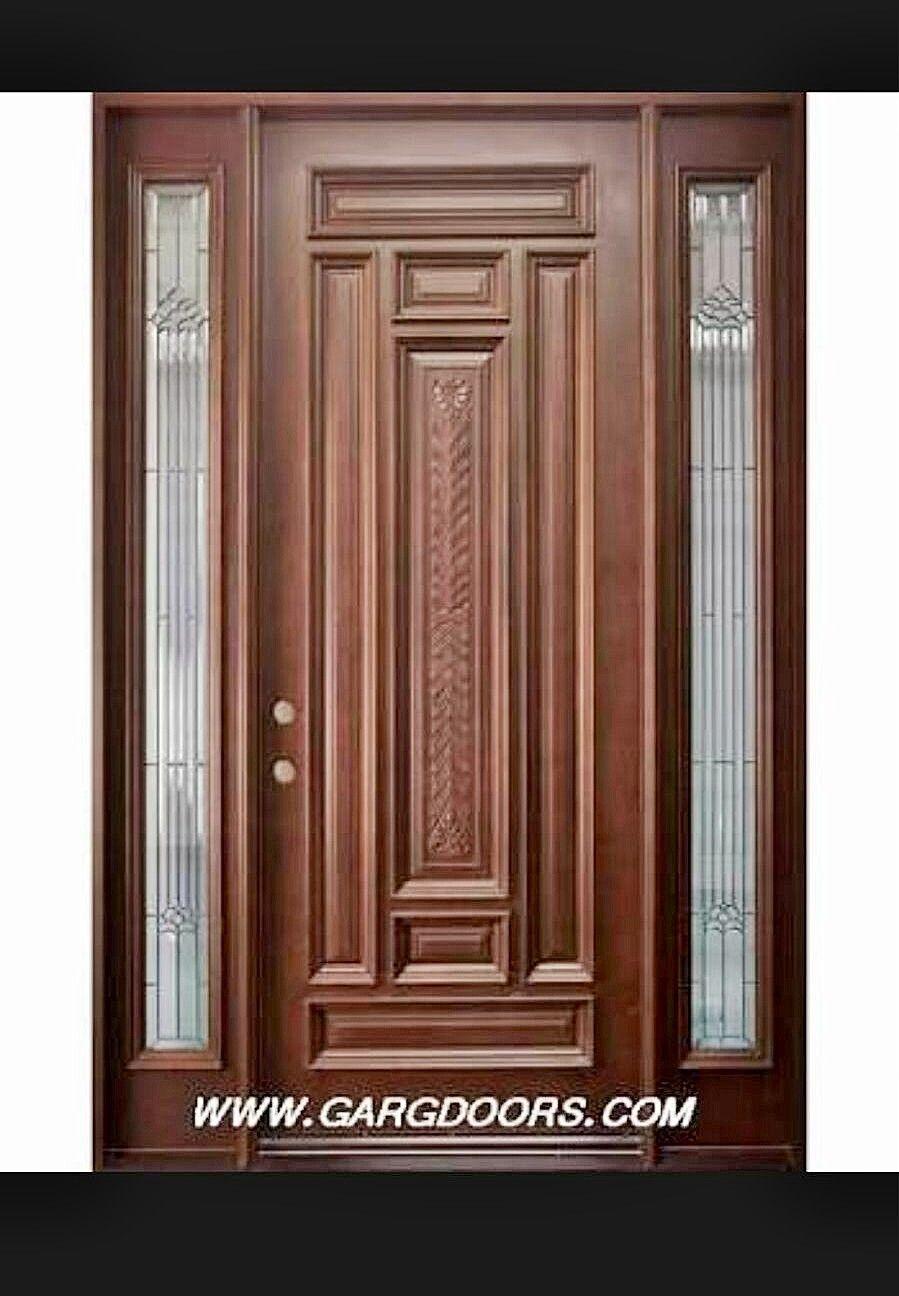 Attractive Main Door Design, Wood Doors, Helpful Hints, Portal, Closet, House, Fancy, Wood  Design, Design Design