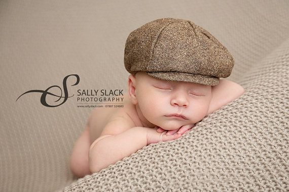 Ready To Ship Newborn Baby Newsboy Hat Baby Boy Photo Prop Infant Newsboy Hat Toddler Newsboy Hat Hat Baby Boy Tweed Baby Boy Photo Prop Baby Boy Photos Newborn Boy Hats