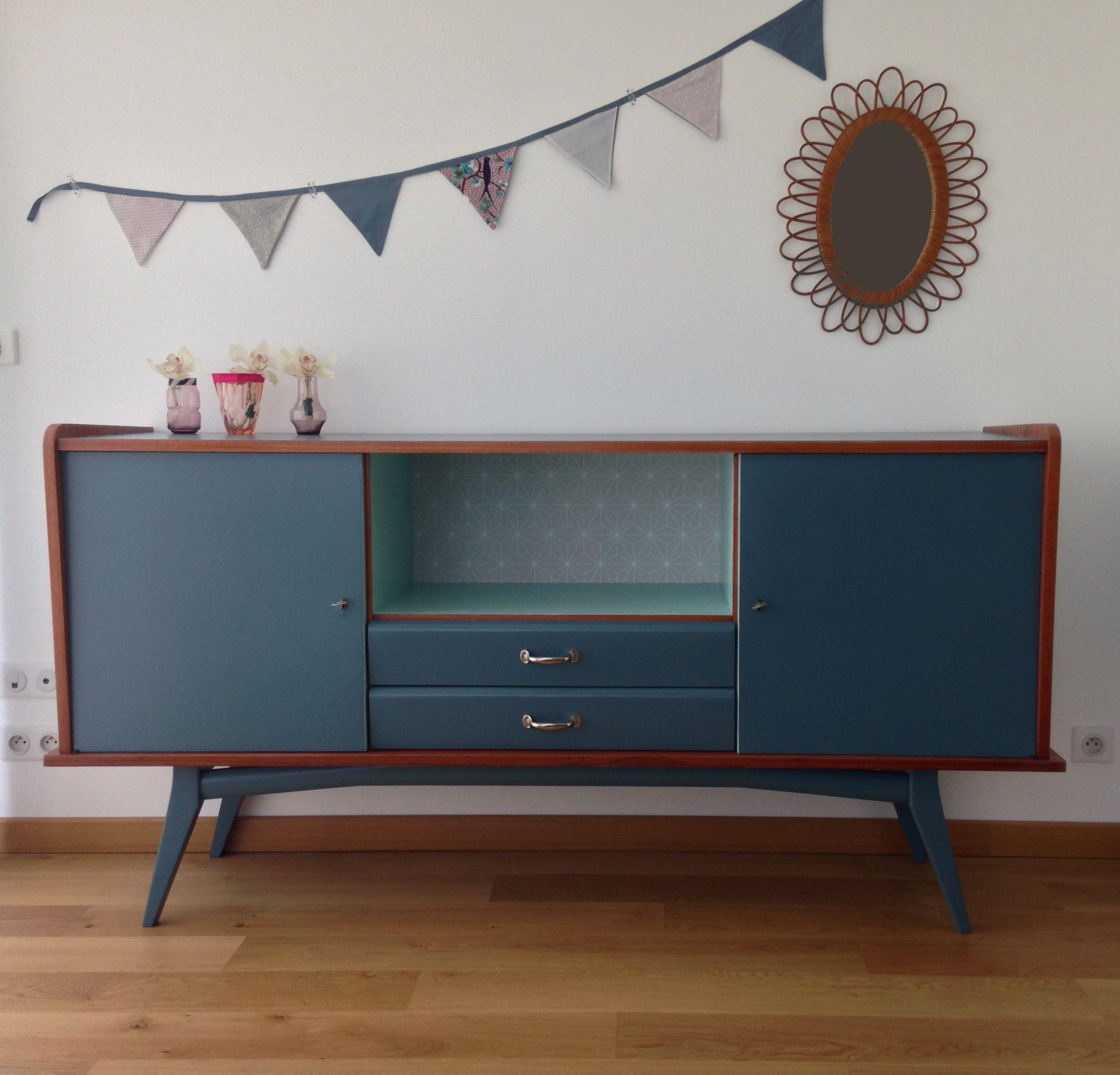 buffet vintage c lestine meubles vintages lilibroc en 2018 pinterest relooker meubles. Black Bedroom Furniture Sets. Home Design Ideas