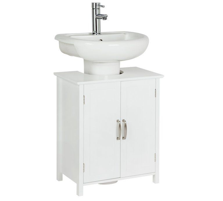 Buy Argos Home Tongue Groove Under Sink Unit White Bathroom