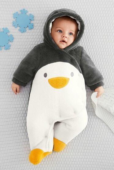 Cute Winter Penguin Jumpsuit Penguins Pinterest Penguins And