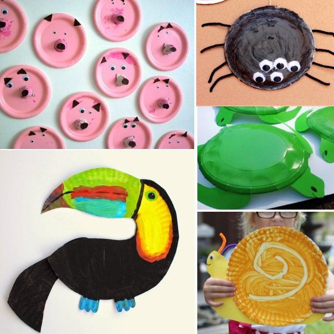 22 Paper Plate Animals & ANIMAL PAPER PLATE CRAFTS | Paper plate animals Paper plate crafts ...
