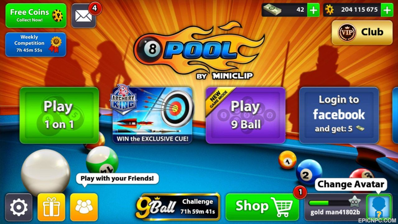 8 ball pool coins and cash generator free | Billionaire ... -