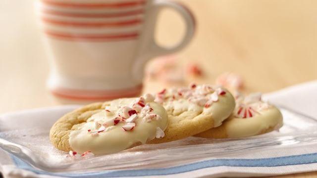 Peppermint Crunch Sugar Cookies Cakes, pies, cookies, sweets