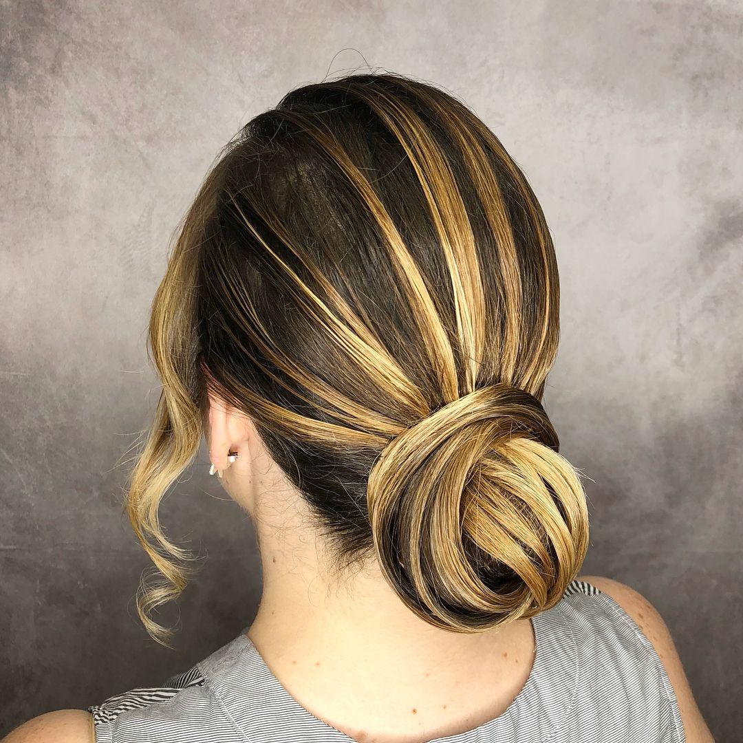 Twisted wedding updos for medium length hairwedding updosupdo