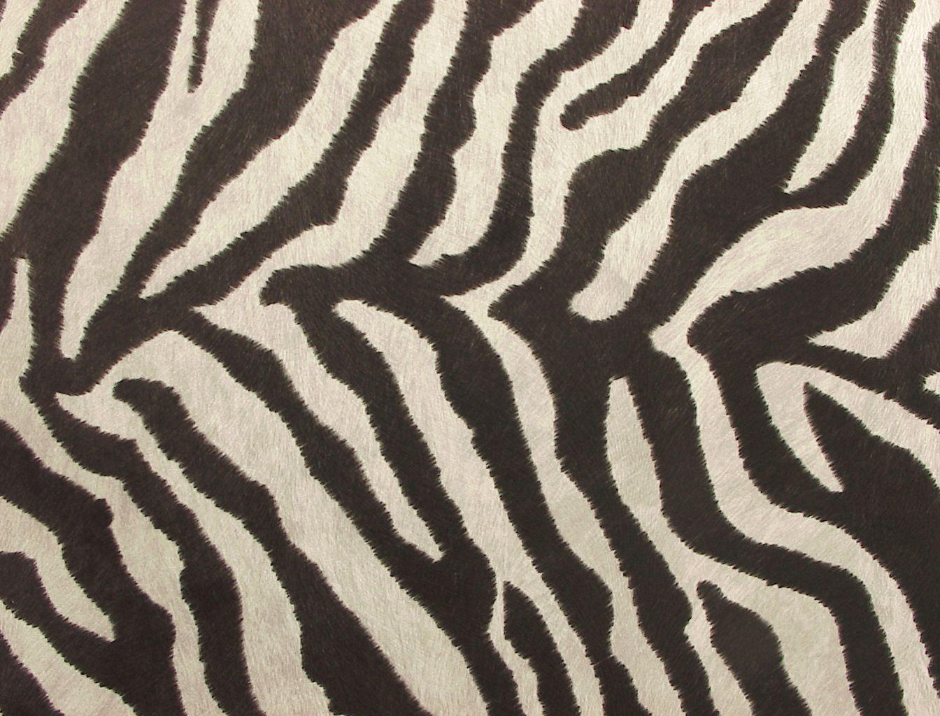 zebra print upholstery fabric tub chair design | Zebra faux hide upholstery animal skin fabric | Fabric ...