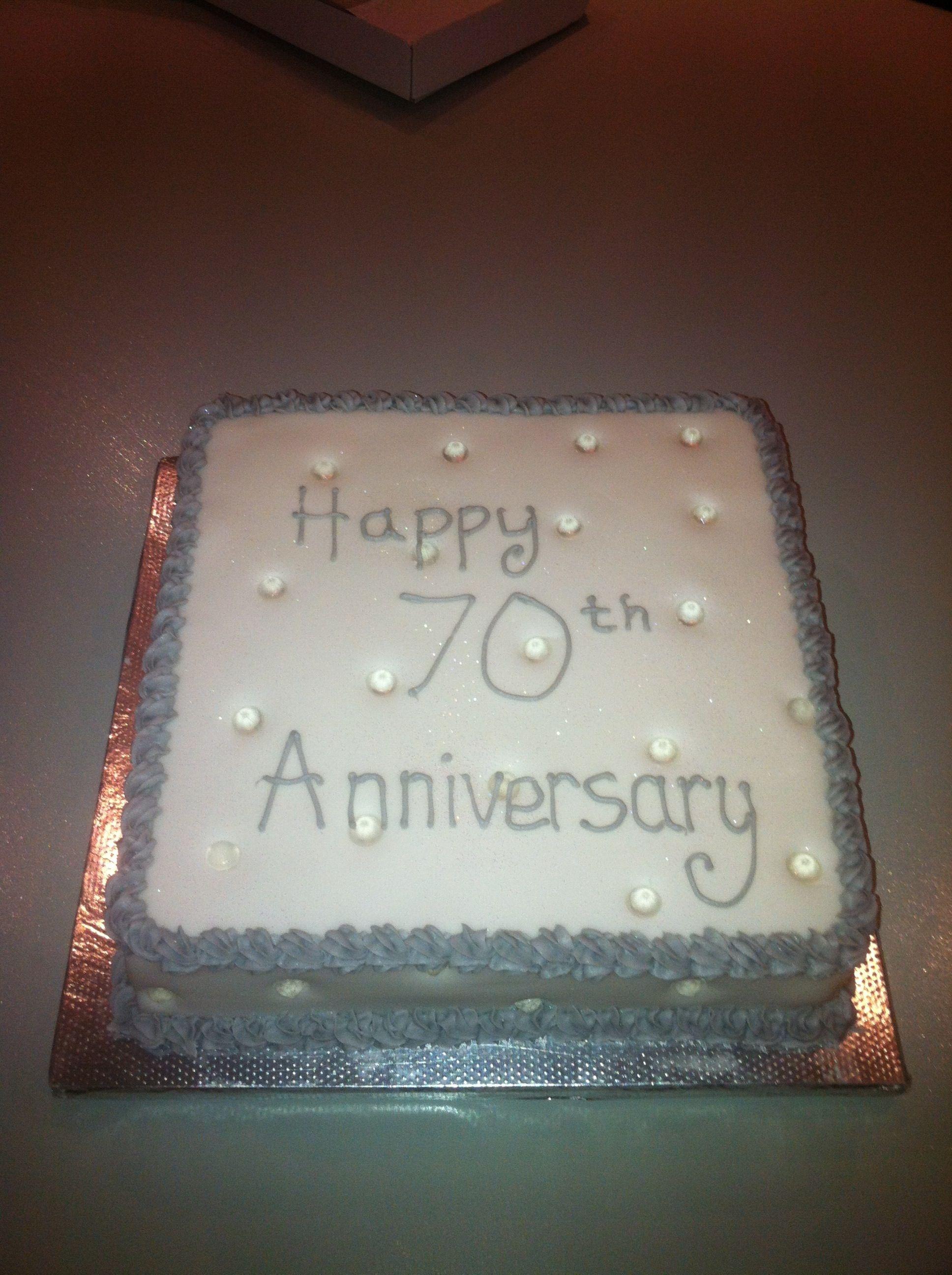 platinum cakes Google Search Wedding aniversary