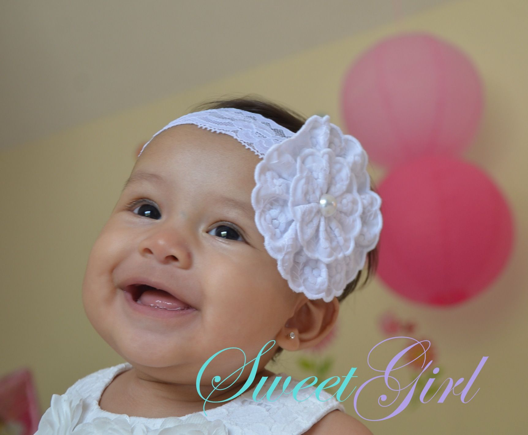 Handmade Baby Girl Headband Item #2002615